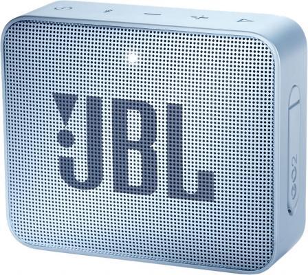 Динамик JBL Портативная акустическая система JBL GO 2 сине-зеленый цена и фото