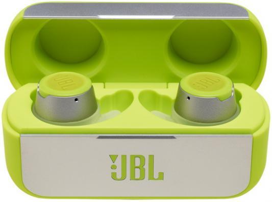Наушники JBL Беспроводные внутриканальные наушники JBLREFFLOWGRN, зеленый цена 2017
