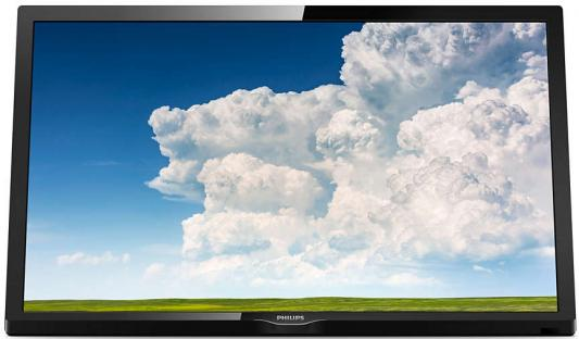 Телевизор Philips 24PHS4304/60 черный philips 48pft4100 60