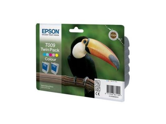 Картридж Epson T00940210 для STYLUS PHOTO 900/1270/1290C Double pack (2 шт/уп)) картридж epson t00940210 для stylus photo 900 1270 1290c double pack 2 шт уп