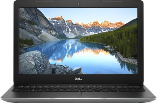 "Ноутбук Dell Inspiron 3593 Core i5 1035G1/4Gb/1Tb/nVidia GeForce MX230 2Gb/15.6""/FHD (1920x1080)/Windows 10/silver/WiFi/BT/Cam ноутбук dell inspiron 3558 core i3 5015u 4gb 1tb nv 920m 2gb 15 6"