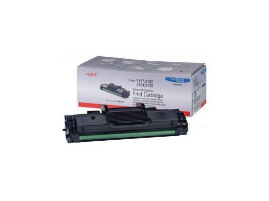 цена Тонер-картридж Xerox 106R01159 black (3000 стр.) для Phaser 3117/ 3122/ 3124/ 3125