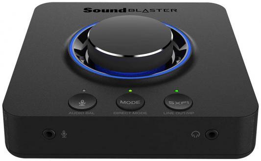 Звуковая карта Creative USB Sound BlasterX X-3 (SB-Axx1) 7.1 Ret недорого