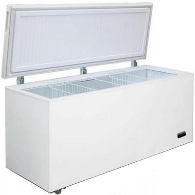 Морозильный ларь Бирюса Б-560KD белый 160Вт