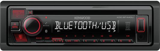 Автомагнитола CD Kenwood KDC-BT440U 1DIN 4x50Вт