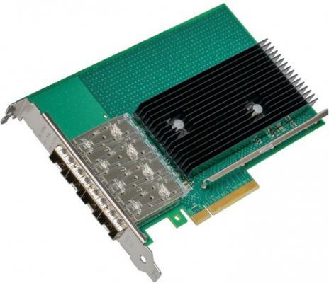 Сетевой адаптер Intel Original X722DA4FH 4x10Gb\\\\s SFP+ ports DA iWARP/RDMA (X722DA4FH 959964) сетевой адаптер intel x550t2blk 940136