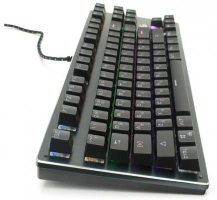 Клавиатура проводная Gembird KB-G540L, USB черный