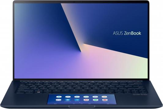 "Ноутбук Asus UX334FL-A4003T i5-8265U (1.6)/8G/512G SSD/13.3""FHD GL IPS/NV MX250 2G/ScreenPad/Win10 Royal Blue + чехол"