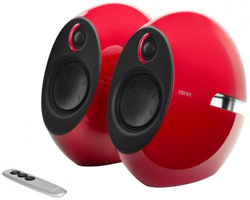цена на Колонки Edifier E25HD Red (2.0,74Вт RMS,Bluetooth v4,пульт ДУ)