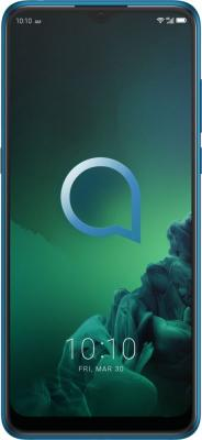 "Смартфон Alcatel 5048Y 3X 64Gb 4Gb зеленый моноблок 3G 4G 2Sim 6.52"" 720x1600 Android 9.0 16Mpix 802.11 b/g/n NFC GPS GSM900/1800 GSM1900 MP3 FM A-GPS microSD max128Gb"