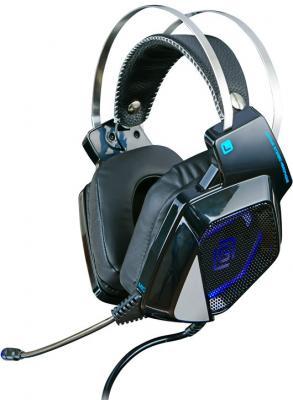мониторы дыхания Наушники с микрофоном Oklick HS-L800G ALIEN черный 2.2м мониторы оголовье (HS-L800G)