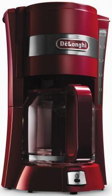 цена на Кофеварка капельного типа DeLonghi ICM 15210.10 RED