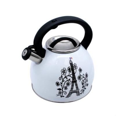 Чайник Катунь Эйфелевая Башня 2.5 л KT 130 B чайник greentop цвет белый желтый 2 5 л