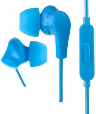 Perfeo наушники внутриканальные c микрофоном ALPHA синие