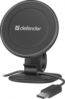 Defender Car holder CH-115+ 360° Автомобильный держатель, магнит,на панель,п/кабель (29115)