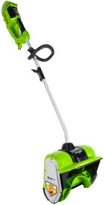 Greenwork 40В 30см Снеголопата б/щ (в комл. аккумуляторная батарея 4А*ч и зарядное устройство)