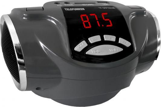 Аудиомагнитола Telefunken TF-SRP3503B серый 6Вт/MP3/FM(dig)/USB/BT/SD аудиомагнитола telefunken tf srp3503b серый 6вт mp3 fm dig usb bt sd