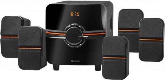 Колонки DEFENDER Cinema 5.1 (64Вт, BT/FM/MP3/SD/USB/LED/RC)