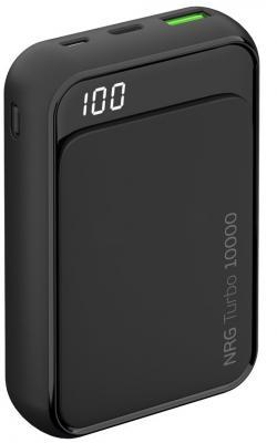 Внешний аккумулятор Deppa NRG Turbo Compact 10000 мАч, QC/PD 3.0 18W, LED экран фото