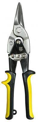 Ножницы BERGER BG1233 по металлу ручные усиленные рычажные (прямой рез) 250мм