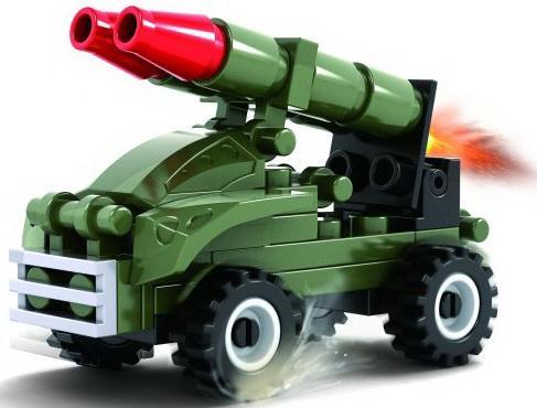 Конструктор Ausini Ракетница 42 элемента конструктор ausini бронетранспортер 83 элемента