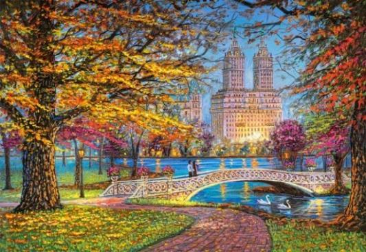 Купить Пазлы 1500 Центральный парк, Нью-Йорк, Кастор, Пазлы-картины