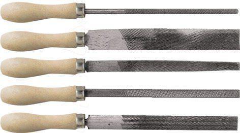Фото - Напильник КУРС 42510 набор 5шт деревянная ручка 150мм напильник курс 42510 набор 5шт деревянная ручка 150мм