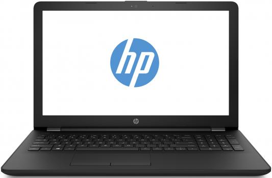 "Ноутбук 15.6"" HD HP 15-ra002ur black (Cel N3060/4Gb/128Gb SSD/noDVD/VGA int/W10) (8UL25EA) фото"