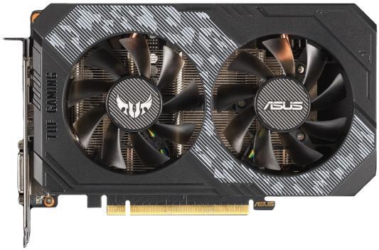Видеокарта ASUS GeForce GTX 1650 SUPER TUF Gaming OC Edition PCI-E 4096Mb GDDR6 128 Bit Retail (TUF-GTX1650S-O4G-GAMING)