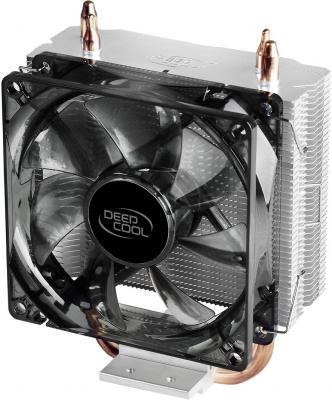 Устройство охлаждения(кулер) Deepcool GAMMAXX 200 V2 Soc-FM2+/AM2+/AM3+/AM4/1150/1151/1155/ 4-pin 18-26dB Al+Cu 100W 361gr Ret