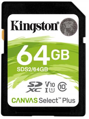 Фото - SecureDigital 64Gb Kingston SDS2/64GB {SDXC Class 10, UHS-I} карта памяти kingston sds2 64gb