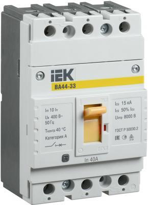 Автоматический выключатель IEK SVA4410-3-0040