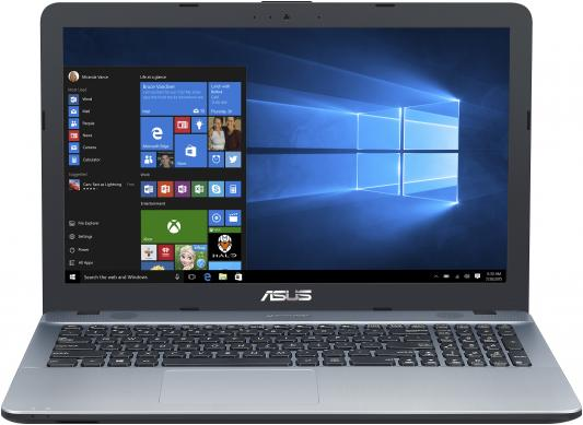 "Ноутбук Asus VivoBook X541SA-XO687 Pentium N3700/4Gb/500Gb/Intel HD Graphics/15.6""/HD (1366x768)/Free DOS/silver/WiFi/BT/Cam цена и фото"