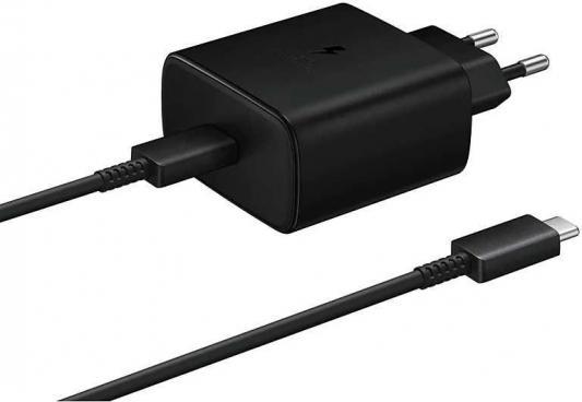 Фото - Сетевое зарядное устройство Samsung EP-TA845 USB-C 3 А черный (EP-TA845XBEGR) беспроводное зарядное устройство samsung ep p1100 usb c 1a черный ep p1100bbrgru