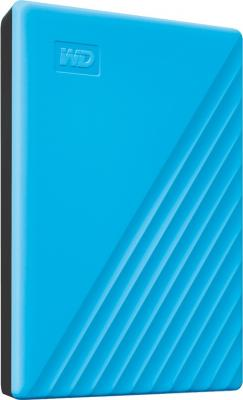 Фото - Жесткий диск WD Original USB 3.0 4Tb WDBPKJ0040BBL-WESN My Passport 2.5 голубой wd my passport usb 3 0 4tb черный