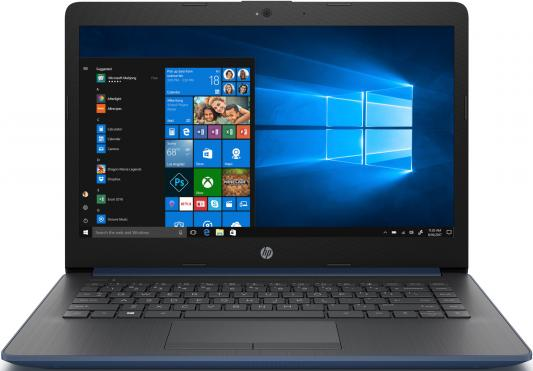 "Ноутбук HP 14-cm1007ur Ryzen 3 3200U/8Gb/SSD256Gb/AMD Radeon Vega 3/14""/SVA/HD (1366x768)/Windows 10/blue/WiFi/BT/Cam"