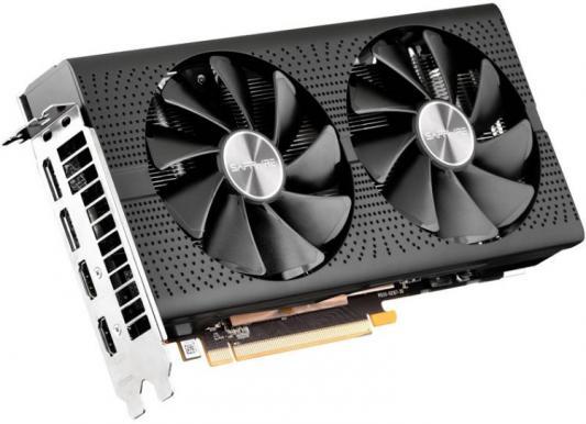 Видеокарта Sapphire PCI-E 11266-67-20G PULSE RX 570 4G OC AMD Radeon RX 570 4096Mb 256bit GDDR5 1284/7000/HDMIx2/DPx2/HDCP Ret цена и фото