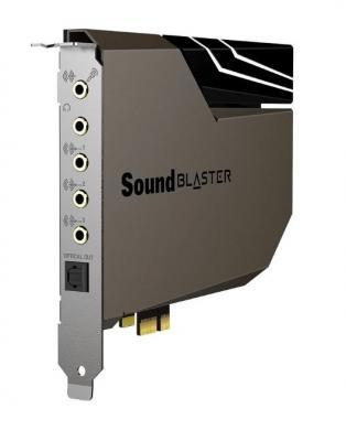 Звуковая карта Creative PCI-E Sound Blaster AE-7 (Sound Core3D) 5.1 Ret внутренняя звуковая карта creative sound blaster z se