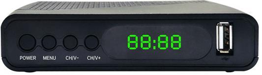 Фото - Ресивер DVB-T2 Hyundai H-DVB500 черный shift