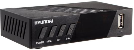 Фото - Ресивер DVB-T2 Hyundai H-DVB420 черный shift