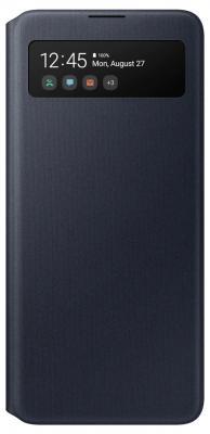 цена на Чехол (флип-кейс) Samsung для Samsung Galaxy A51 S View Wallet Cover черный (EF-EA515PBEGRU)