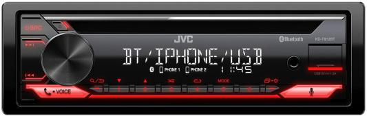 Автомагнитола CD JVC KD-T812BT 1DIN 4x50Вт автомагнитола cd jvc kd t702bt