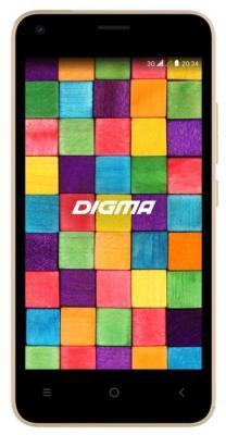 "Картинка для Смартфон Digma LINX Argo 3G 8Gb 512Mb золотистый моноблок 3G 2Sim 4.5"" 480x854 Android Go 2Mpix WiFi GPS GSM900/1800 GSM1900 TouchSc MP3 FM microSDHC max32Gb"
