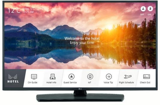 Фото - Телевизор LG 55UT661H черный телевизор lg 43lk5910plc черный