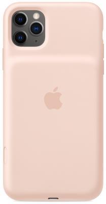 Чехол-аккумулятор Apple Smart Battery Case для iPhone 11 Pro розовый песок MWVN2ZM/A чехол аккумулятор apple smart battery case для apple iphone 11 pro белый