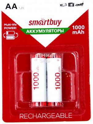 Аккумуляторы Smart Buy SBBR-2A02BL1000 1000 мАч AA 2 шт