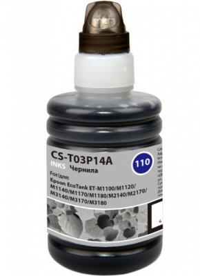 Чернила Cactus CS-T03P14A черный140мл для Epson M1100/M1120/M1170/M2140/M2170 epson m2140