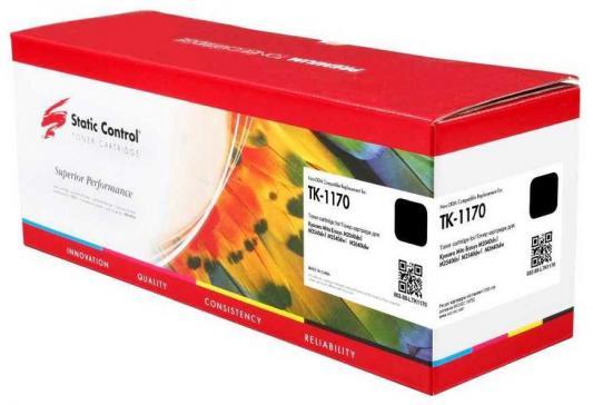 Картридж лазерный Static Control 002-08-LTK1170 TK-1170 черный (7200стр.) для Kyocera Ecosys M2040dn/ M2540dn/M2640idw мфу kyocera ecosys m2640idw