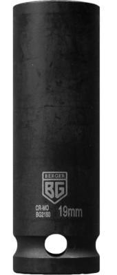 Фото - Головка торцевая удлиненная ударная тонкостенная 1/2 19 мм BERGER BG2150 торцевая головка ударная berger bg2131