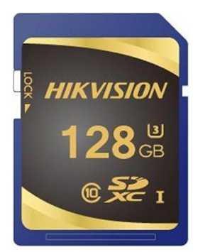 Фото - SecureDigital 128Gb Hikvision HS-SD-P10/128G {SDXC Class 10, UHS-I} видеорегистратор для видеонаблюдения hikvision hiwatch ds h116g